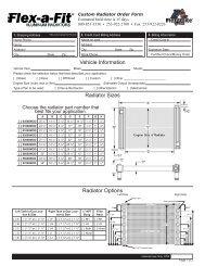 Radiator Performance Radiator 208 fits 85-89 Suzuki Samurai