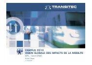 CAMPUS 2010 VISION GLOBALE DES IMPACTS ... - wheelchair.ch
