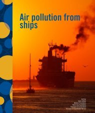 Air pollution from ships - Airclim