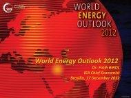 World Energy Outlook 2012
