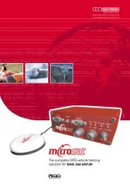 The complete GPS vehicle testing solution for land, sea and air
