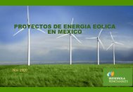Proyectos de Energía Eólica en México. Iberdrola ... - Tech4CDM