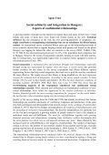 Social solidarity and integration in Hungary: Aspects of ... - MEK - Page 4