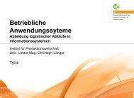 Betriebliche Anwendungssyteme - und Sozialwissenschaften