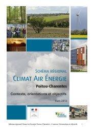 Contexte, orientations et objectifs - Région Poitou-Charentes