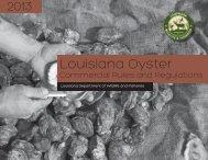 Oyster Rule and Reg Brochure_letter_CS5 - 7-3-13.indd - Louisiana ...