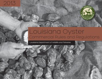 Oyster Rule and Reg Brochure_letter_CS5 - 7-3-13.indd - Louisiana ...