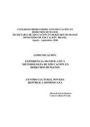 comunicación: experiencia significativa metodología de ... - DHnet