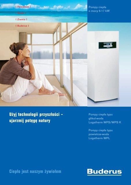 Pompy ciepła - Buderus