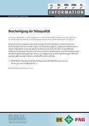 Schaeffler - Swiss Automotive Group AG