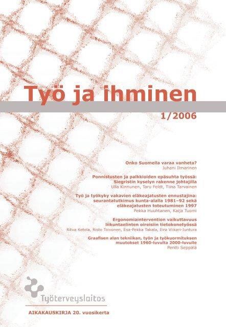 1/2006 - Työterveyslaitos