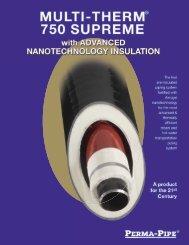 Multi-Therm 750 Supreme - Perma-Pipe, Inc.