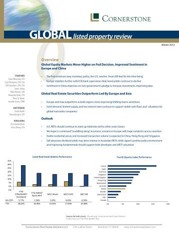 global listed property review babson capital babson capital europe offices