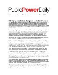 View Complete Issue - American Public Power Association