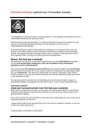 Nieuw: Het hele jaar Lowlands maak een conceptvoorstel voor Het ...