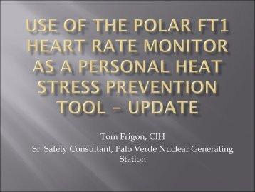 TFrigon_Heat Stress Monitoring.pdf - Esafetyline.com
