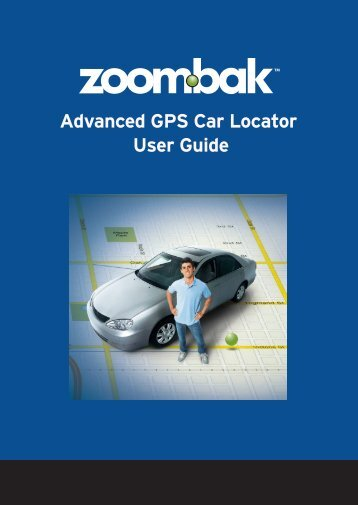 Advanced GPS Car Locator User Guide - Zoombak