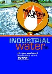 Industrial Water Media Kit 2006 - WME magazine