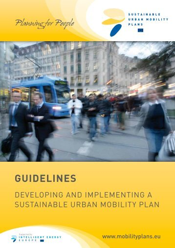 SUMP Guidelines - Sustainable Urban Mobility Plans