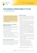 SUMP Guidelines - Sustainable Urban Mobility Plans - Page 6