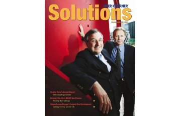 Profile: Total's Daniel Picard Kristin: The First HPHT ... - Aker Solutions