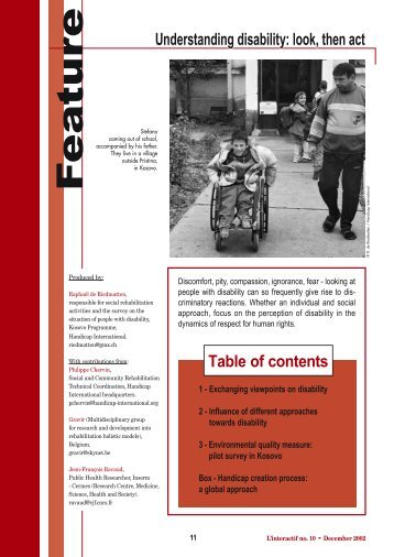 in English - Handicap International