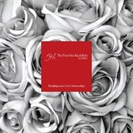 Wedding Brochure - The White Hart Royal Hotel