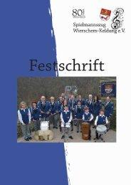 Festschrift 2013 22-05-2013 - Spielmannszug Wierschem-Keldung ...