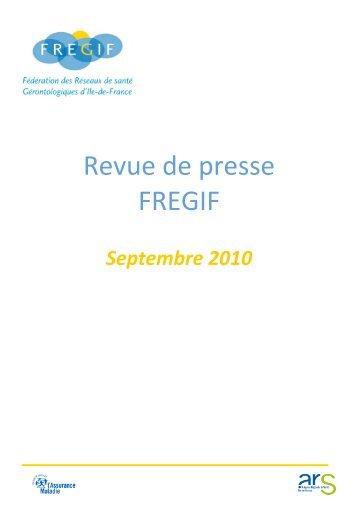 Septembre 2010 - Fregif