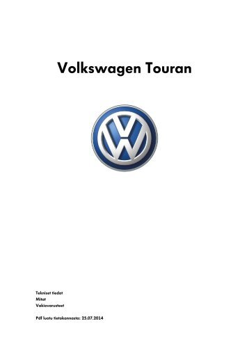 60 free Magazines from VOLKSWAGEN.FI