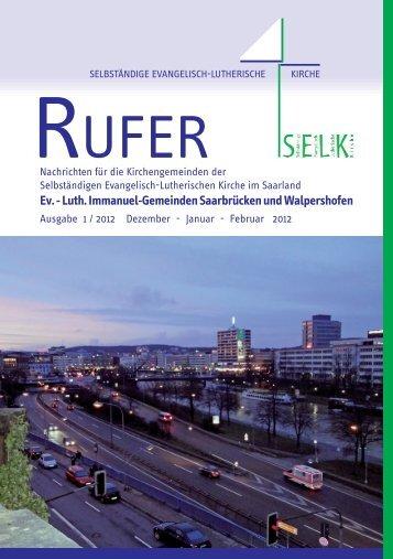 Dez 2011 - Saarbrücken