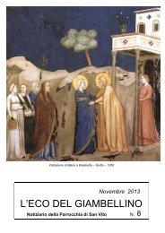 Novembre 2013 - Parrocchia San Vito al Giambellino