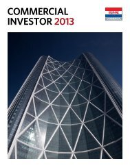commercial investor 2013 - RE/MAX of Western Canada