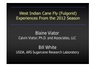 West Indian Cane Fly - Louisiana Agricultural Consultants ...