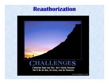 October 19, 2010 - Reauthorization, Leo Penne, AASHTO