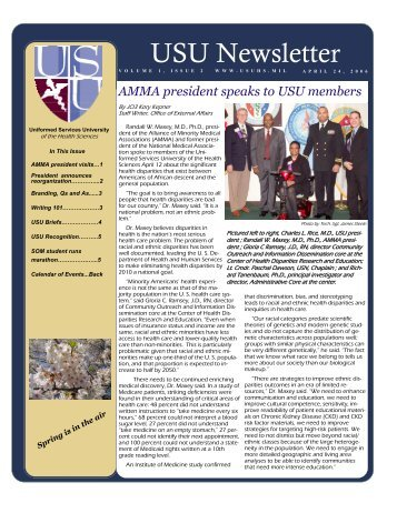 2nd Edition 04/24/06 - Uniformed Services University of the Health ...
