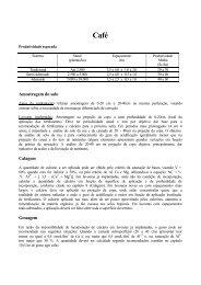 Cafe - 5 Aproximacao 04 - Adubos e Adubações