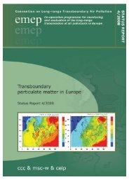 EMEP Report 4/2008 - NILU