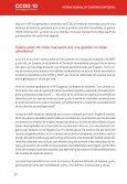 Informe General al 10º Congreso de CCOO - Page 7