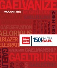 Download the 2011-12 Annual Report - Saint Mary's College of ...