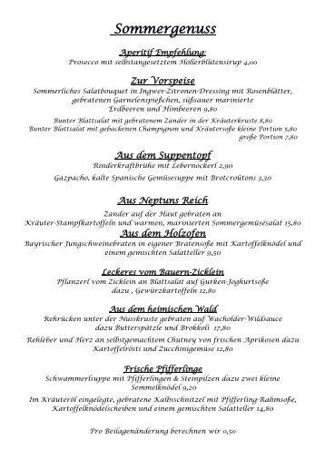 Unsere Empfehlungskarte - Landhaus Hinterberg