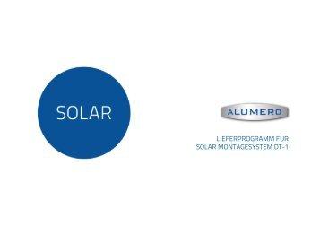 Lieferprogramm DT1 - Alumero