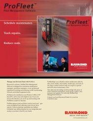 ProFleet Spec Sheet - Werres Corporation