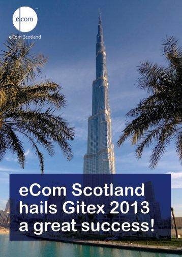 STOP PRESS eCom Scotland hails Gitex 2013 a great success!