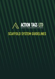 SCAFFOLD SYSTEM GUIDELINES - Actiontags.co.nz
