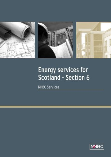 Energy services for Scotland brochure - NHBC Home