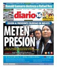 Ronald Gamarra destroza a Rafael Rey - Diario16