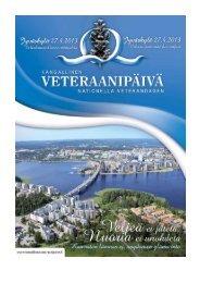 Veteraanipäivän loppuraportti - Jyväskylän kaupunki