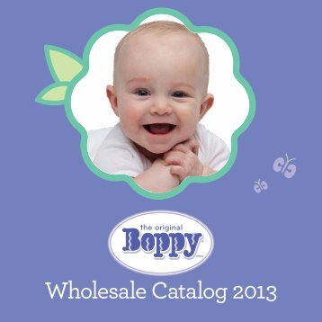Wholesale Catalog 2013 - Boppy Sales Reps