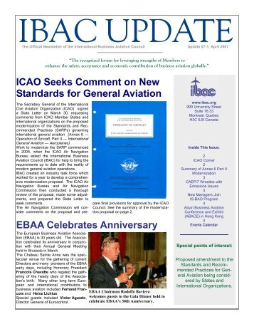 Issue 07-1 - International Business Aviation Council